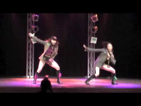 Japanese popular dance (Hip-Hop-Jazz)    aglaia 2005 Femali Troubl
