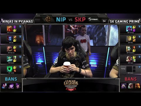 Ninjas in Pyjamas vs SK Gaming Prime | Game 1 Grand Finals S4 EU CS #2 Summer 2014 | NIP vs SKP G1