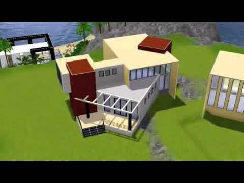 The Sims 3 - House 19 - Paradise Atop The Hill