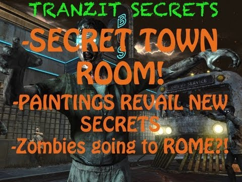 NEVER BEFORE SEEN TRANZIT EASTER EGG (SECRET TOWN ROOM)