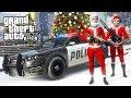 GTA 5 Игра за Полицейского #11 - НОВОГОДНИЙ ПАТРУЛЬ!! (ГТА 5 МОДЫ LSPDFR)