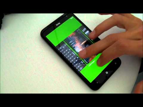 Unboxing HTC TITAN Windows Phone Mango