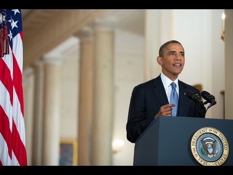 President Obama Addresses the Nation on Syria 9/11/13