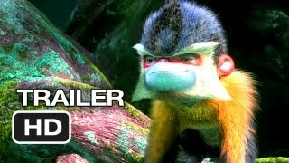The Croods Official Trailer (2013) - Ryan Reynolds, Nicolas Cage Animated Movie HD