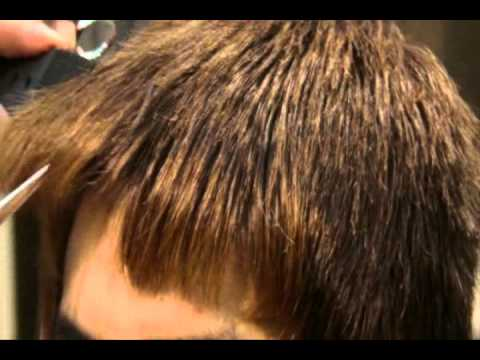 MEDIUM-LAYERED HAIRCUT FOR A YOUNG GUY (SWITCHSCISSORS)