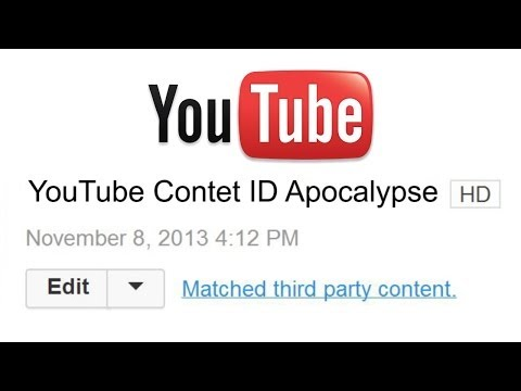 YouTube Content ID Apocalypse (What's Going On?)