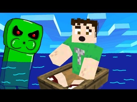 CREEPER BLEW UP MY BOAT!!