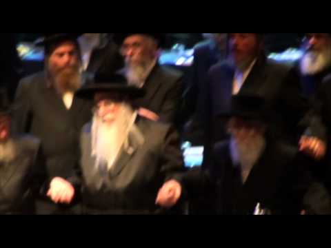 Siyum Hashas - London 2012 - Royal Festival Hall - Dancing after Hadran