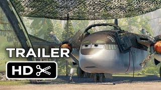 Planes: Fire & Rescue Official 'Thunder' Trailer (2014) - Disney Animation Sequel HD