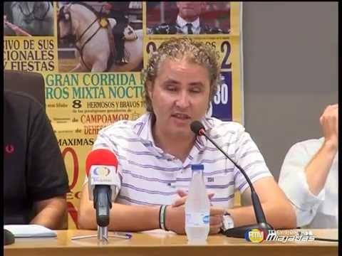 Presentación del Cartel del Festejo Taurino en las Ferias de Agosto  Miajadas 2014