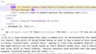 HTML5 Microdata