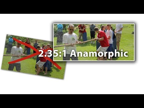 2.35:1 Cinemascope, Panavision, Anamorphic Aspect Ratio Tutorial