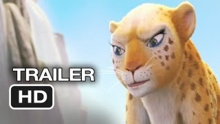 Delhi Safari Official Trailer (2012) - Jane Lynch, Cary Elwes Movie HD