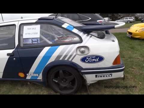 Ford Sierra RS Cosworth Rally Car