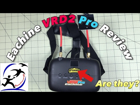 Eachine VR D2 Pro Goggles Review.  Are they an upgrade? Pros and Cons - UCzuKp01-3GrlkohHo664aoA