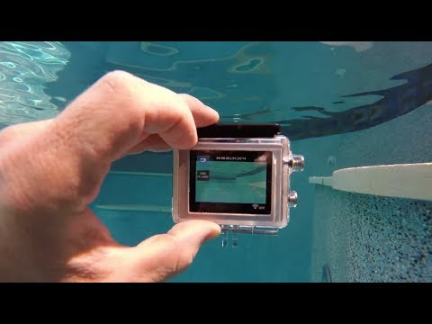 Touching The LCD Screen Under Water? GoPro Tip #356
