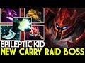 EPILEPTIC KID [Dragon Knight] New Carry Insane Raid Boss Top Pro Gameplay 7.22 Dota 2