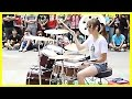 Amazing Girl Drummer Does BIGBANG - Fantastic Baby Street Performance
