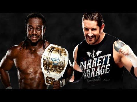 WWE TLC 2012 Kofi Kingston vs Wade Barrett Intercontinental Championship match (WWE 13 PG)