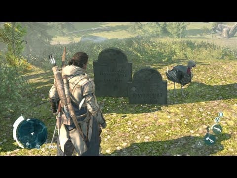 Assassin's Creed III - Assassin Turkey Easter Egg