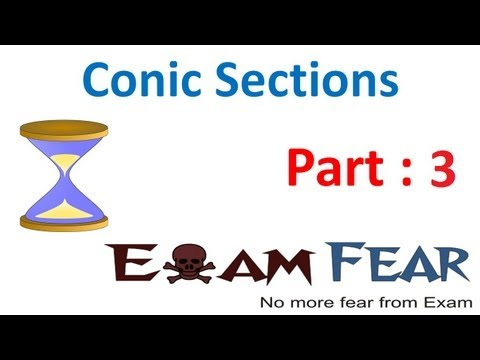 Maths Conic Sections part 3 (Circle Examples) CBSE class 11 Mathematics XI