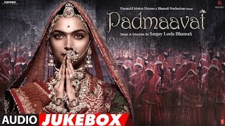 Padmaavat : Jukebox