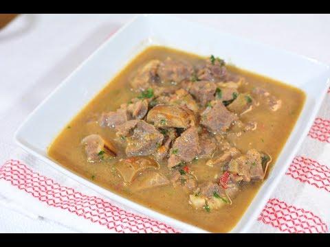 Nigerian Pepper Soup - Goat Meat Version