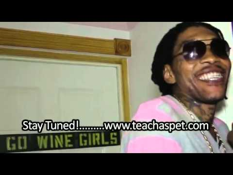 VYBZ KARTEL - TEACHA'S PET  'MANSION SNEAK PEAK ' SEP 2011
