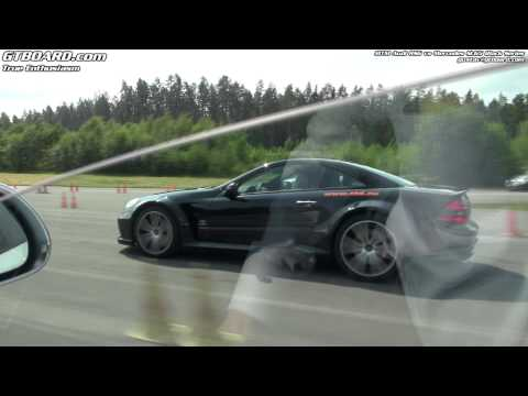 Mercedes SL65 Black Series vs MTM Audi RS6 Sedan 725 HP