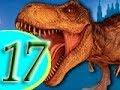 МУЛЬТИК ПРО ДИНОЗАВРА. ПРОГУЛКА ДИНОЗАВРА РЕКСА ПО ГОРОДУ. №17 Все серии. Флеш игры.