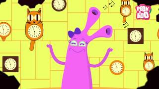 Hickory Dickory Dock | Nursery Rhymes For Kids | Popular English Rhymes