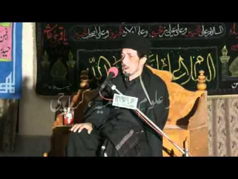Majlis No. 9 - Ashra 01 Safar to 10 Safar 2012 - Allama Zameer Akhtar Naqvi in Dhudyal