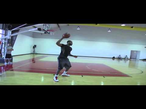 Hakeem Olajuwon and LeBron James Training Sessions 2011