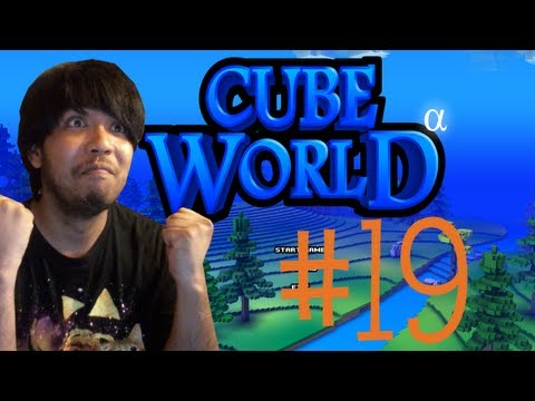 Mabi Vs Cube World #19 (Literally Trapped!)