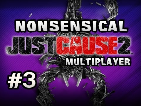 Nonsensical Just Cause 2 Multiplayer w/Nova &amp; Sp00n Ep.3 - SWIMMING FOR DAYS