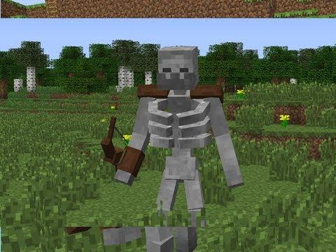 Как сделать скелета мутанта