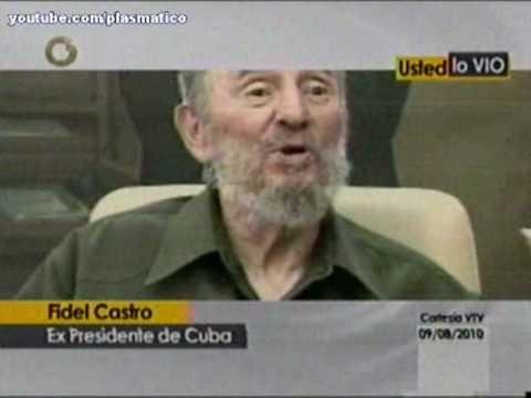 UD. LO VIO. FIDEL CASTRO: SOCIALISMO ES COMUNISMO ( Cuba Venezuela Chavez)
