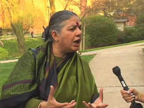 Vandana Shiva Interview
