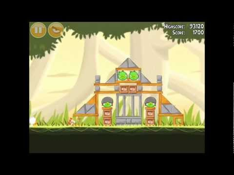Angry Birds Danger Above 6-4 Walkthrough 3 Star