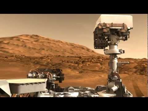 Mars Curiosity Rover Report (Aug.10, 2012)
