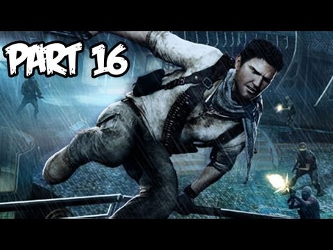 Uncharted 3 Walkthrough Part 16 HD - Chapter 10 (PS3/Playstation 3 Gameplay)