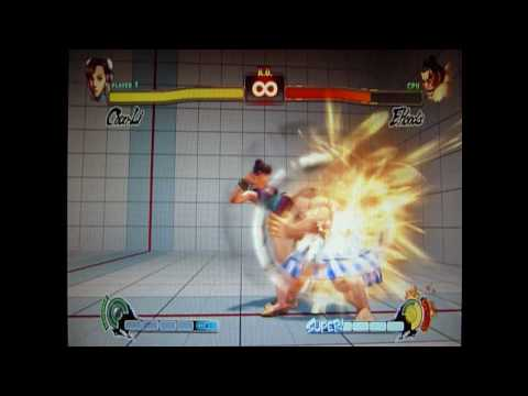 Street Fighter IV Chun-Li Combo Video