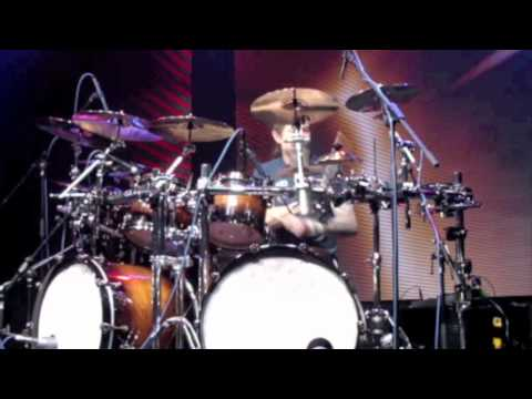 "Metal Drummer Chris Adler ""Lamb of God"" Live at Musikmesse Frankfurt 2012"