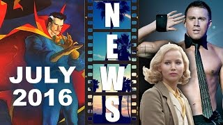 Dr Strange Movie, July 8th 2016! Magic Mike XXL Cast! Serena 2015! - Beyond The Trailer