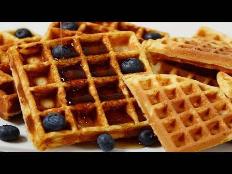 Waffles Recipe Demonstration - Joyofbaking.com