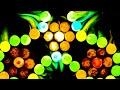 Фрагмент с начала видео Самодельный спиннер из m&m's растворяем в воде. DIY spinner of m&m's dissolve in water.