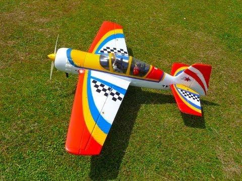HobbyKing Yak 54 1.5m Monster 3D Kit V2 EPO installed Eagle A3 Pro Gyro #1 . - UCYyg3H334xvq9p5-e3BWk4Q