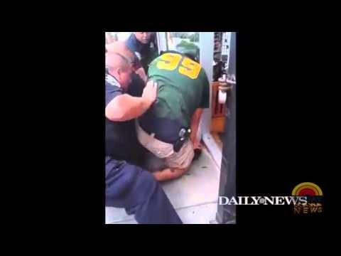 (NYPD) Cops Kill Man Via Chokehold  4/19/14