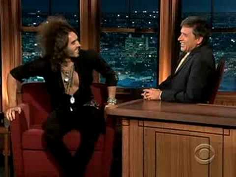 Russell Brand talks about British prejudice towards the U.S.