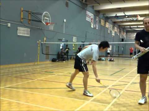 2011 badminton practice game